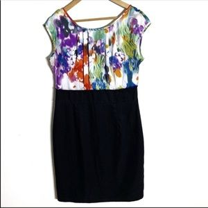 Alyx Abstract Multi Color Pencil Dress Size 14